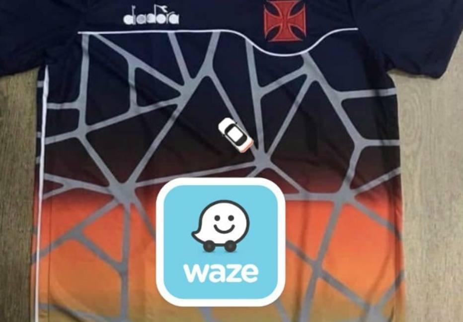 f741ee5db8 Suposta nova camisa do Vasco vira piada nas redes; veja os memes ...