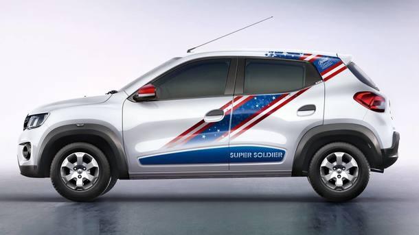 Renault Kwid Captain America