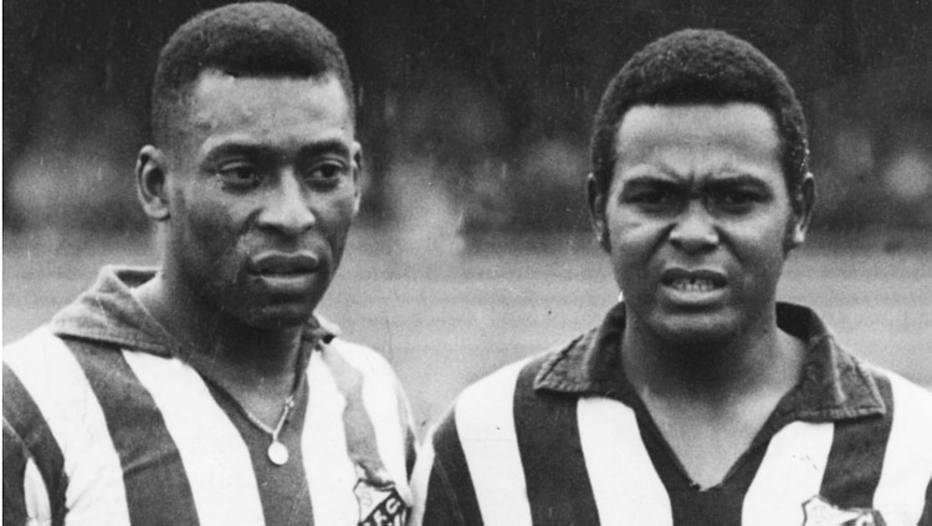 Pelé e Coutinho, um das maiores duplas de ataque da história