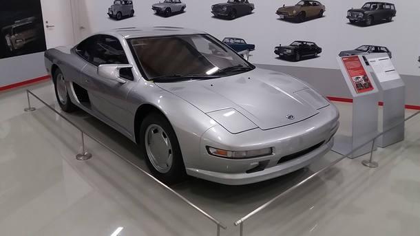Acervo de carros antigos da Nissan