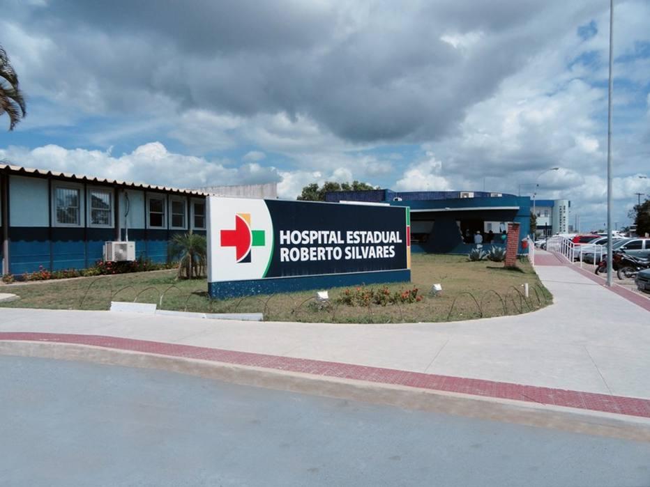 Hospital Roberto Silvares em São Mateus, no Espírito Santo
