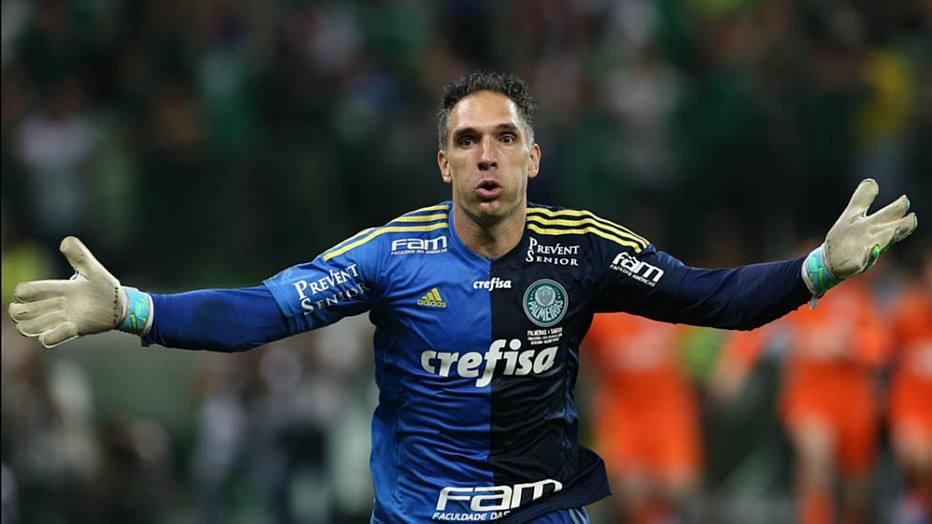 Fernando Prass, goleiro do Palmeiras
