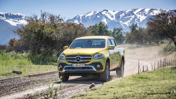 Mercedes-Benz Classe X chega em 2019