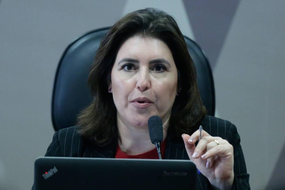 Candidata ao comando do Senado, Simone Tebet quer discutir nova metodologia para teto de gastos