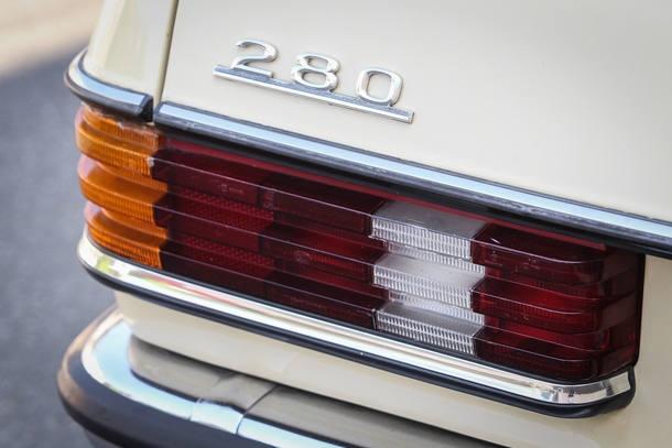 Carro do Leitor: Mercedes-Benz 280 1980