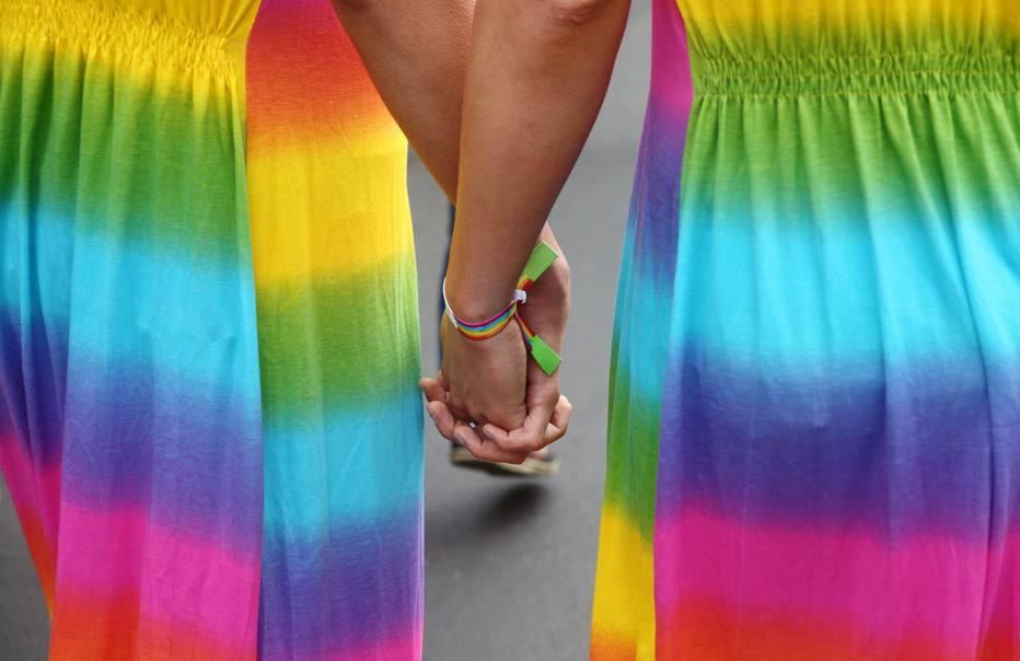 Ativistas participam de parada gay em Viena; país negou asilo a jovem afegão que não demonstrava ser