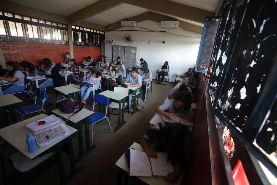 Escola Estadual Juvenal José Pedroso, em Goiânia