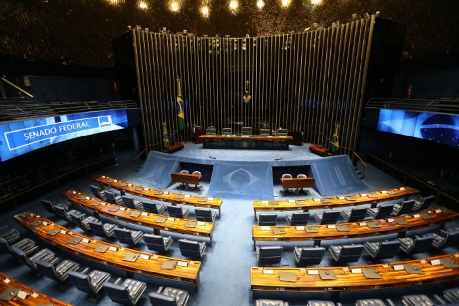 O plenário do Senado Federal