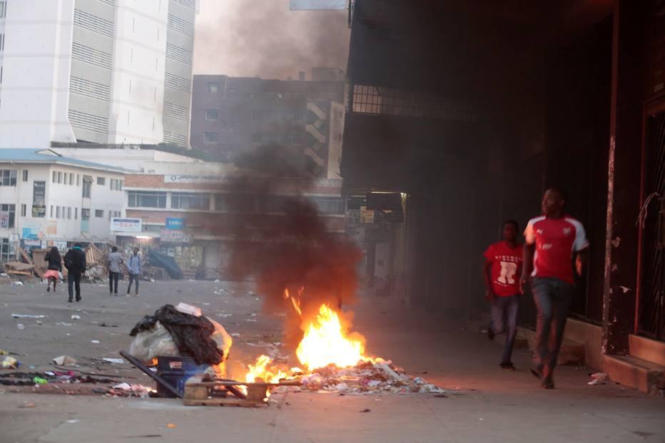 Eleições no Zimbábue