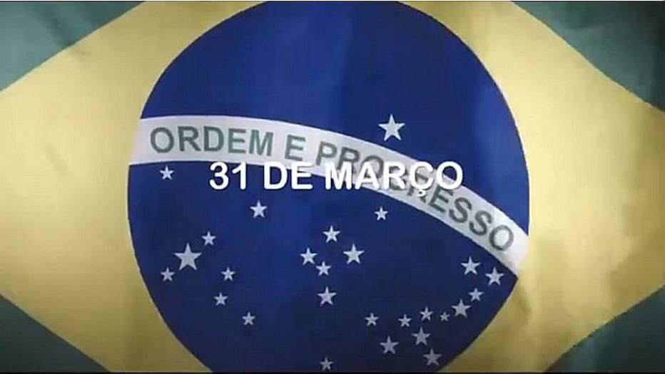 Planalto divulga vídeo em defesa do golpe militar de 1964