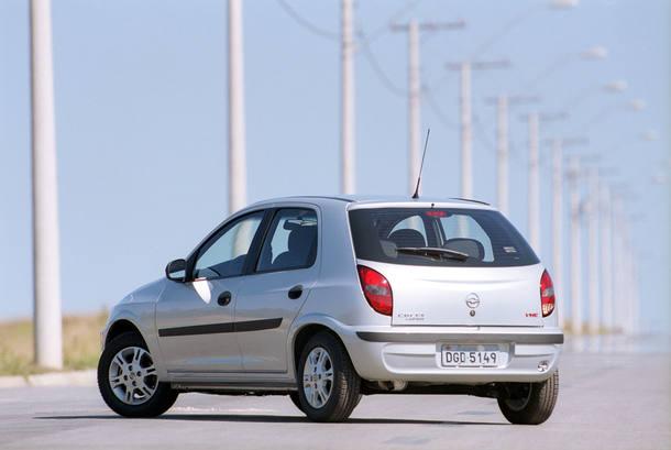 Os 15 anos do Chevrolet Celta