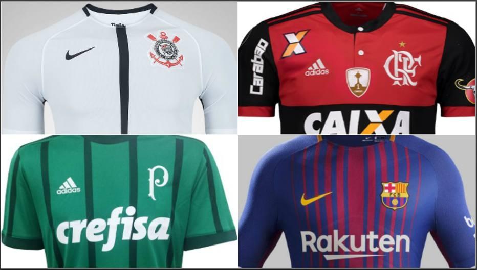 273f70511b Quais clubes mais venderam camisas no Brasil em 2017? Descubra aqui
