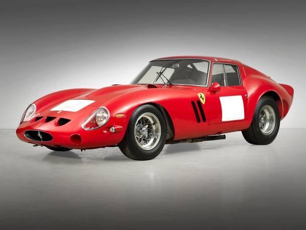 Os carros mais caros vendidos em leilão