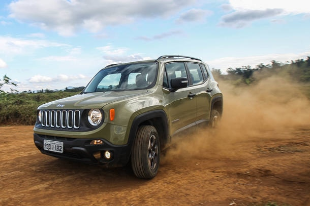 JEEP RENEGADE 1.8 FLEX 2017 - R$ 68 MIL