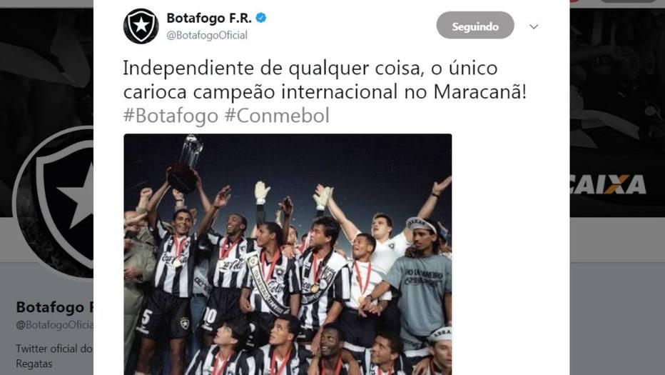 Botafogo e Íbis não perdoam o Flamengo após vice da Sul-Americana ... 61d737cb19cf4
