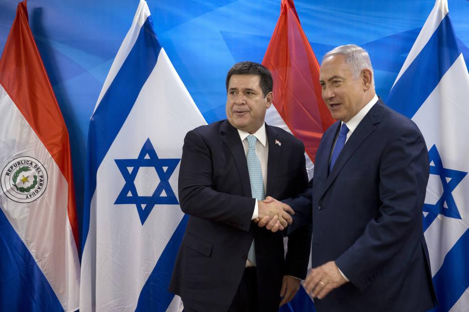 Netanyahu e Cartes