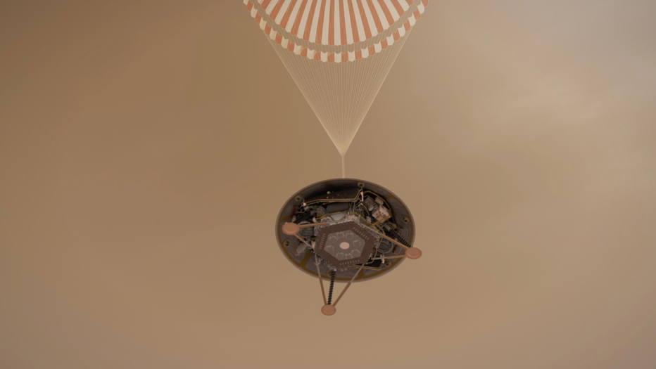Sonda InSight leva instrumentos para detectar calor e vibrações sísmicas nunca medidas fora da Terra