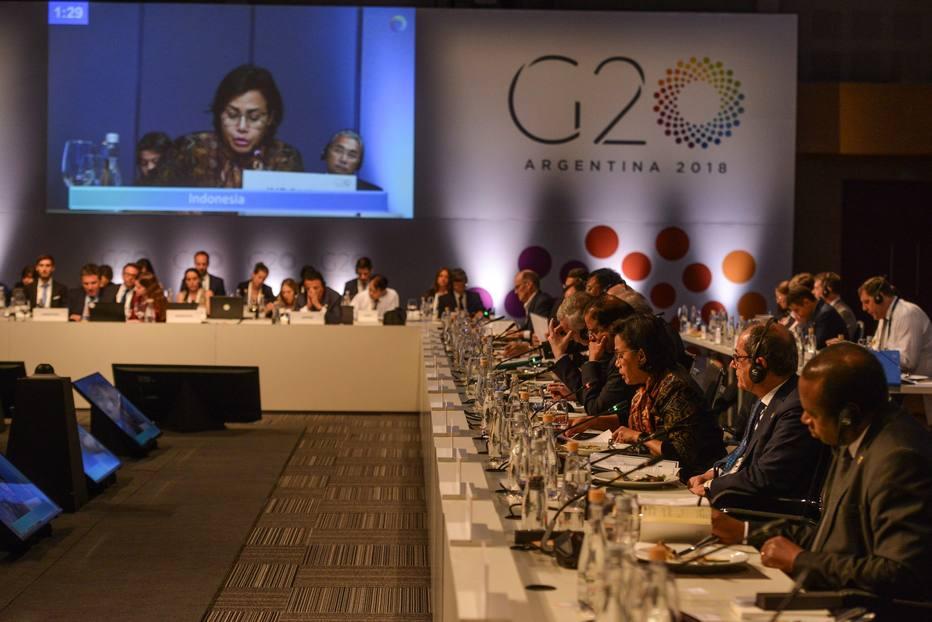 Ministros finanças G-20