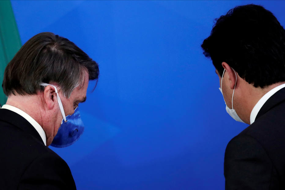 Bolsonaro e Mandetta