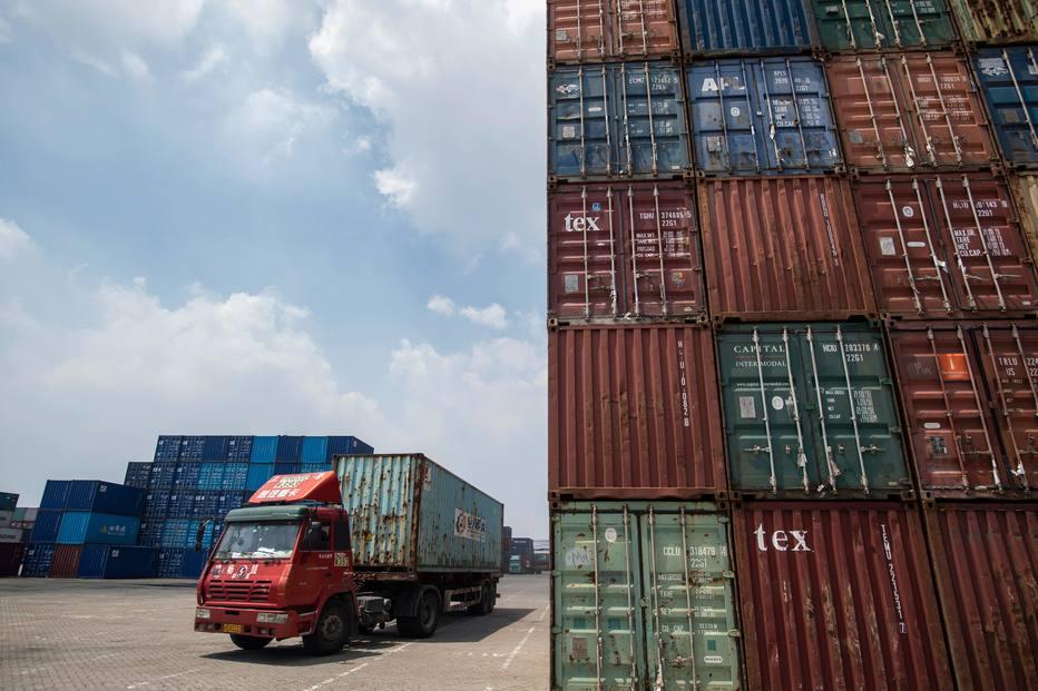 Guerra comercial / EUA e China