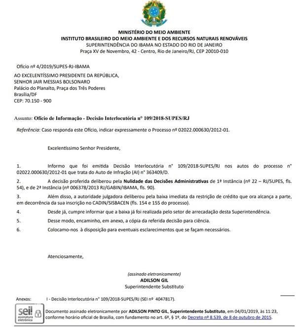 Bolsonaro Ibama