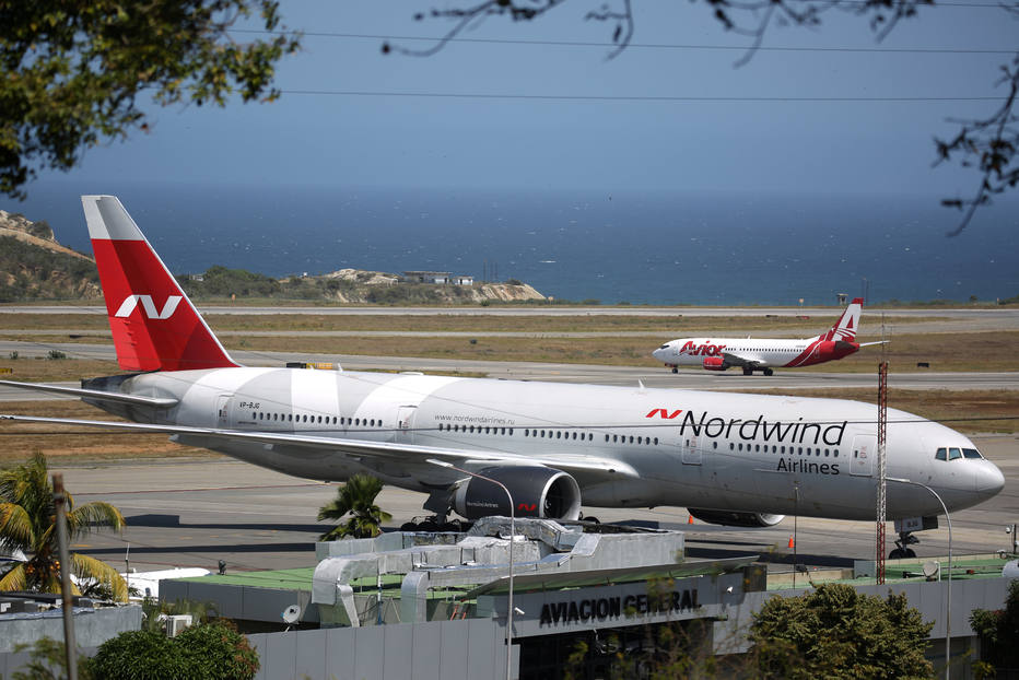 Avião da Nordwind