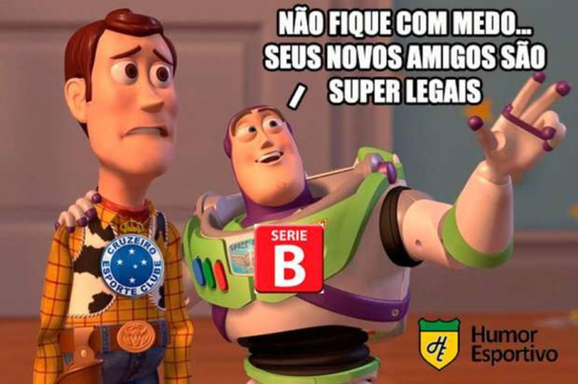 Série B Rebaixamento Do Cruzeiro Vira Meme Nas Redes Sociais