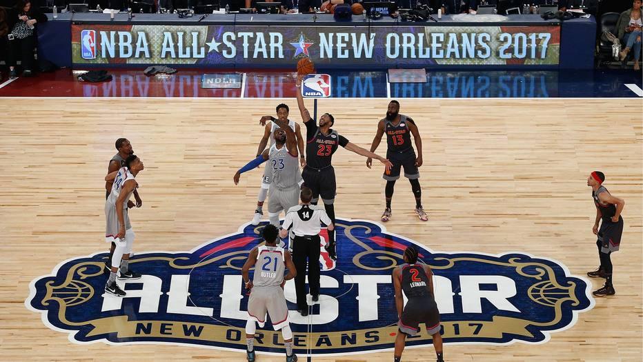 f438a9e1646 All-Star Game marca quebra de recordes e reunião entre Durant e Westbrook