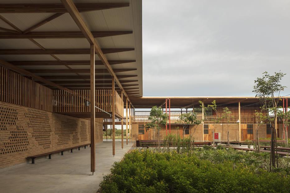 Escola brasileira ganha prêmio de melhor edifício do mundo
