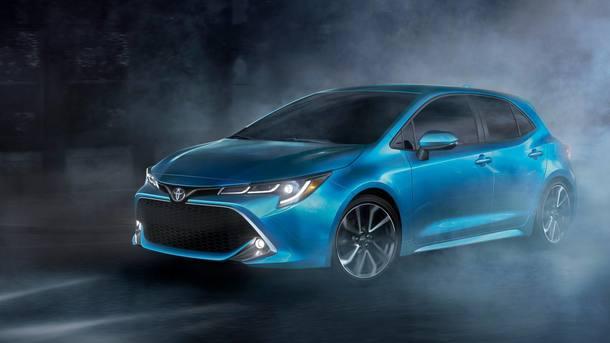 Toyota Corolla hatch 2019