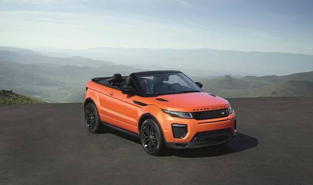 Land Rover Range Rover Evoque Conversível