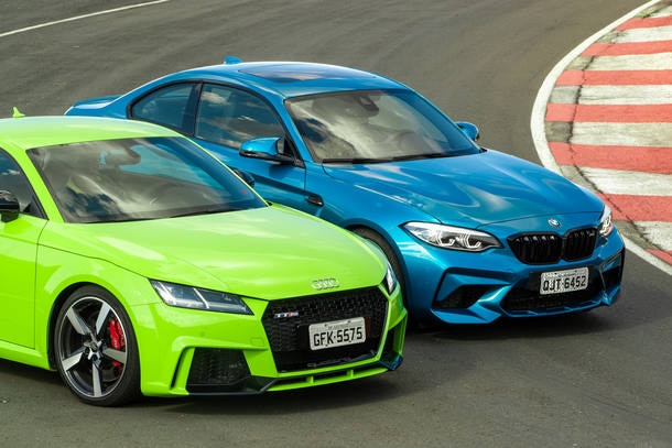 BMW M2 COMPETITION X AUDI TT RS