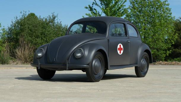 Raro VW Fusca 1943 está à venda por R$ 1 milhão