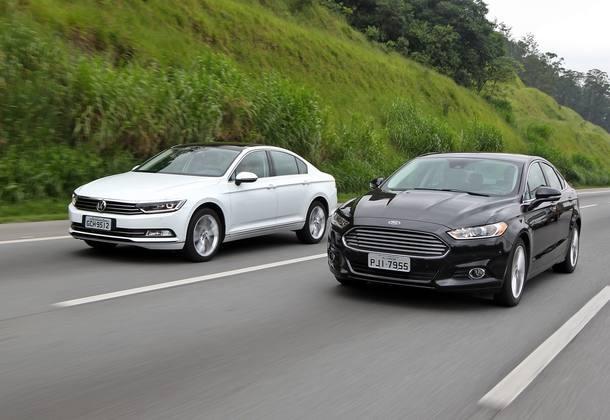 Volkswagen Passat X Ford Fusion