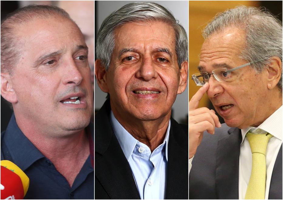 Bolsonaro anuncia minstros de eventual governo