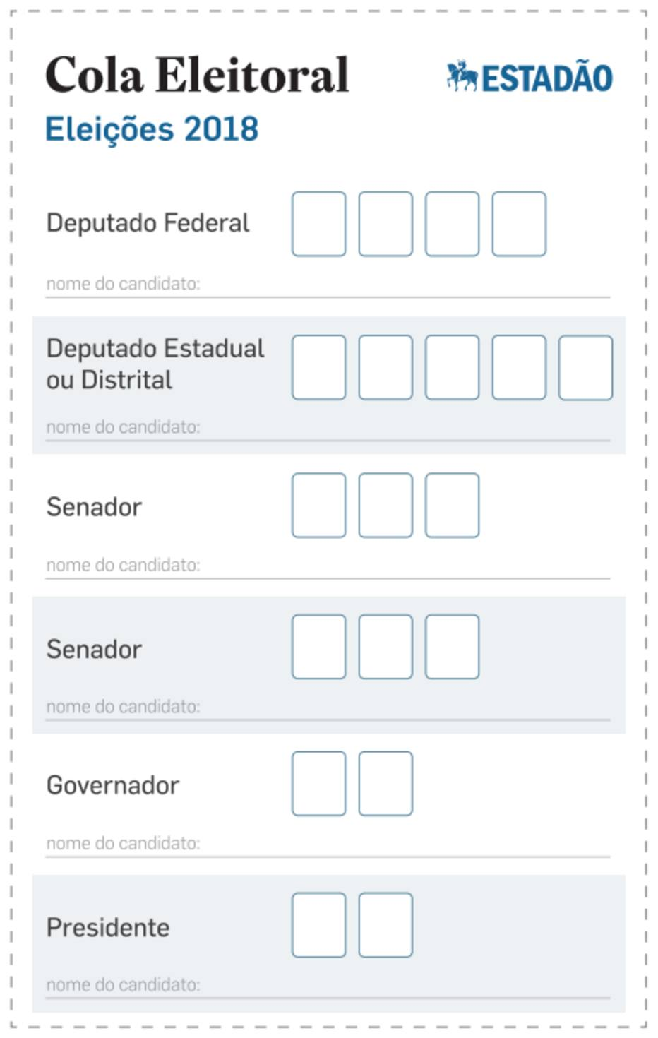 lique na imagem para abrir o arquivo em PDF e imprimir a cola eleitoral das eleições 2018