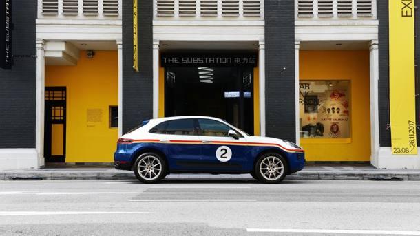 Cores de corrida clássicas da Porsche