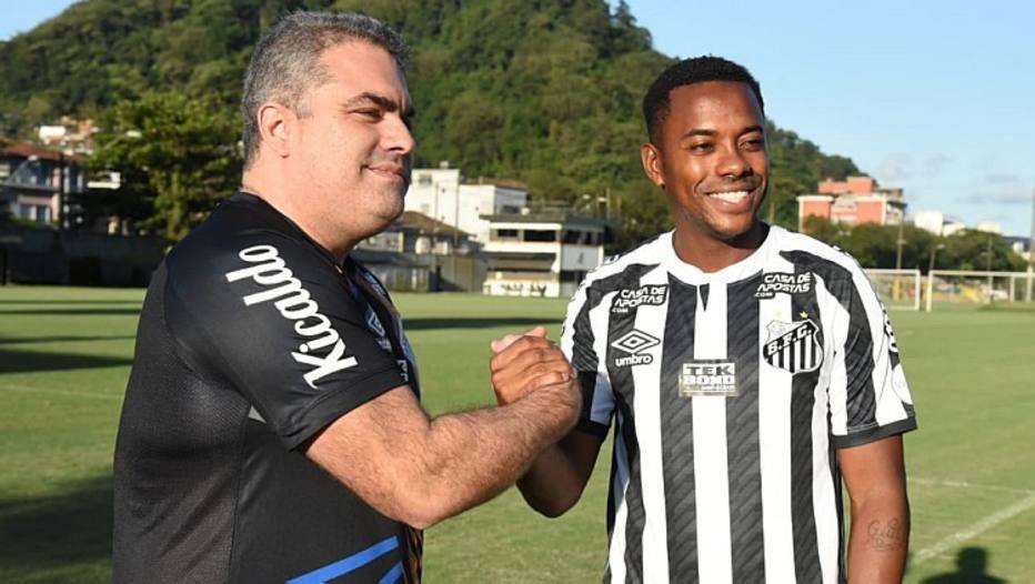 Santos desistiu da contratação de Robinho