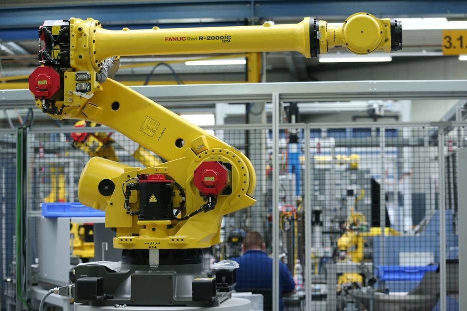 Mão de obra robô