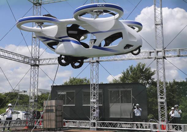 Protótipo da NEC realizou voo de um minuto