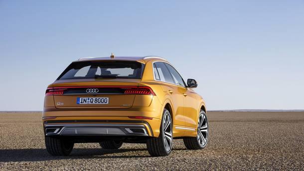 Novo Audi Q8