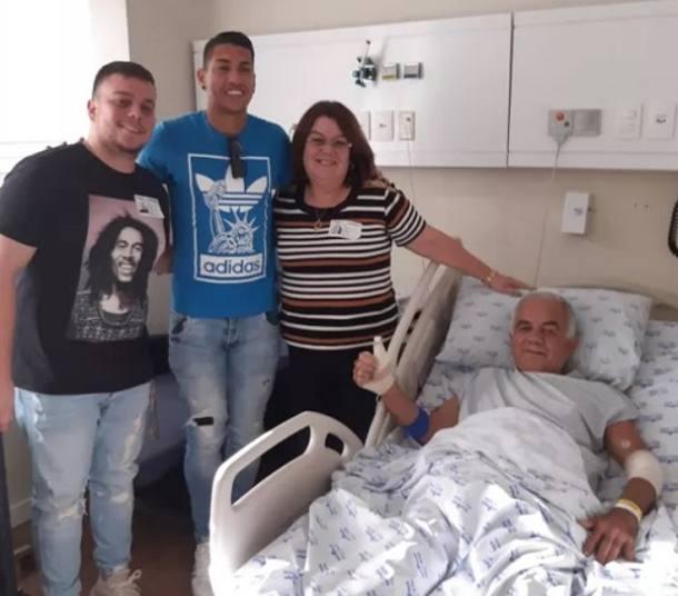 Ralf faz visita à idoso vítima do acidente e o transfere para hospital particular