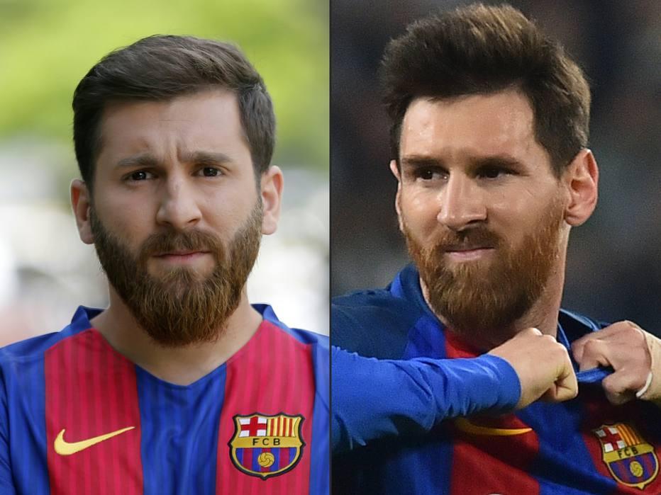 Sósia de Messi é levado pela polícia após causar tumulto em cidade iraniana 6dac05b11881e