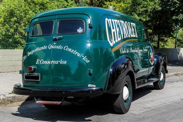 Chevrolet furgão 3800 1953
