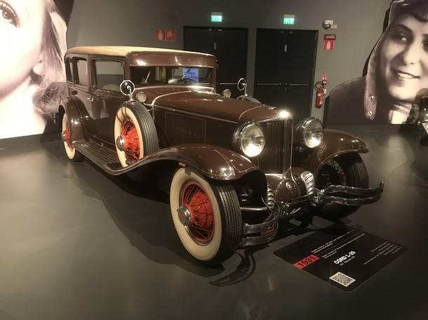 Museu de Turim mostra evolução do automóvel