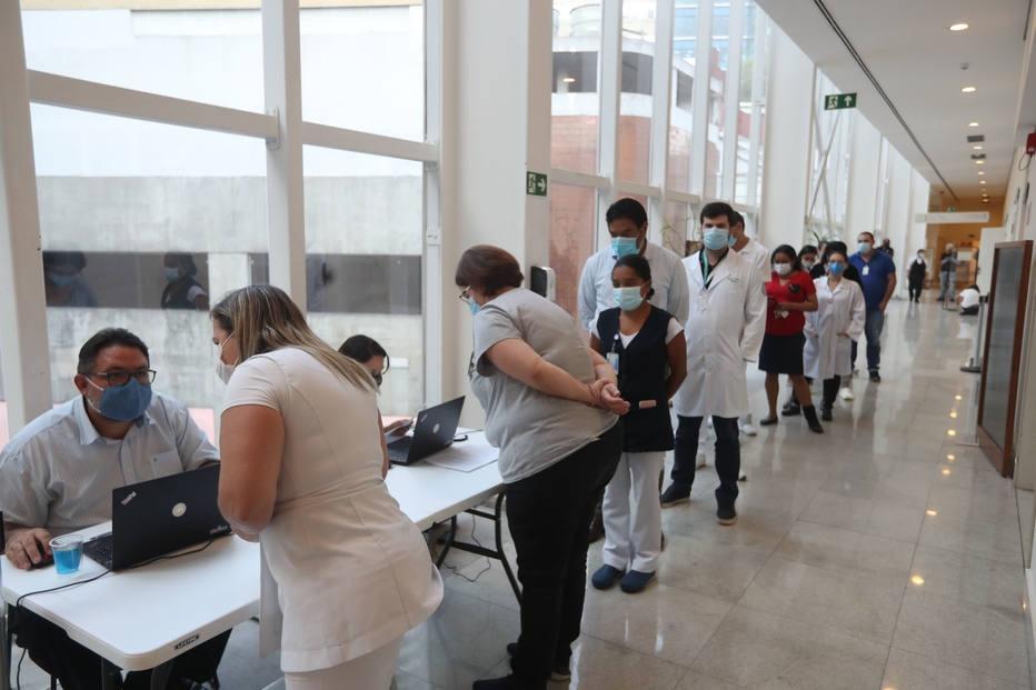 Começa a vacinação em São Paulo