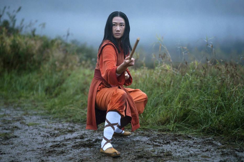 Cena de Kung Fu