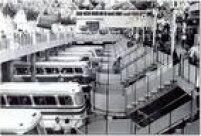 Movimento em 1977: terminal recebia até 2.500 ônibus por hora e afetava trânsito