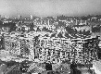 Construção do Museu de Arte Brasileira (MAB) da Fundação Armando Alvares Penteado (FAAP), localizado na Rua Alagoas, bairro de Higienópolis, em São Paulo, na década de 50.