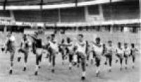 Preparação da Seleção Brasileira, 01/6/1958.